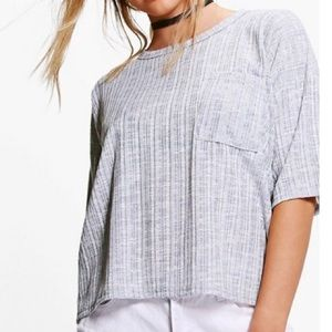 Boxy fit pocket tee
